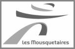 Logo Mousquetaire gris