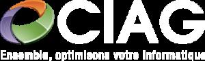 Logo CIAG blanc