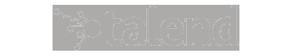 Logo Talend gris